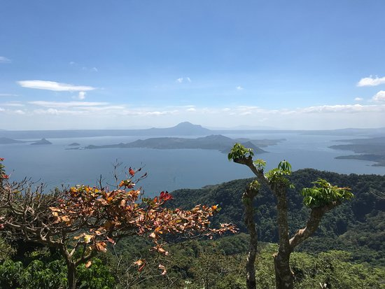 Charito by Bag of Beans: View of Taal Lake