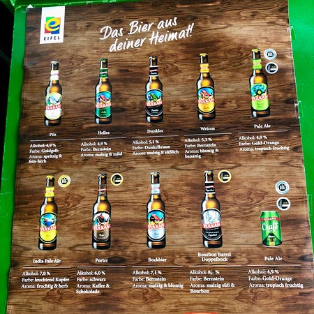 Mendig, Германия: Bierauswahl