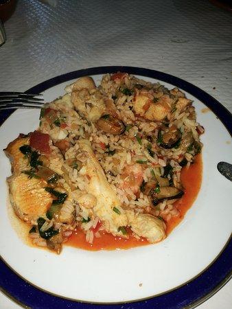 Alcanena, Portugal: O arroz de peixe no prato