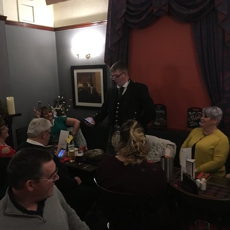 Swannington, UK: Special food for a great burns night