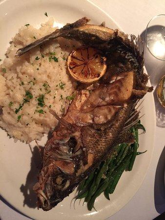 O'Leary's Seafood Restaurant : Fried, whole Bronzino