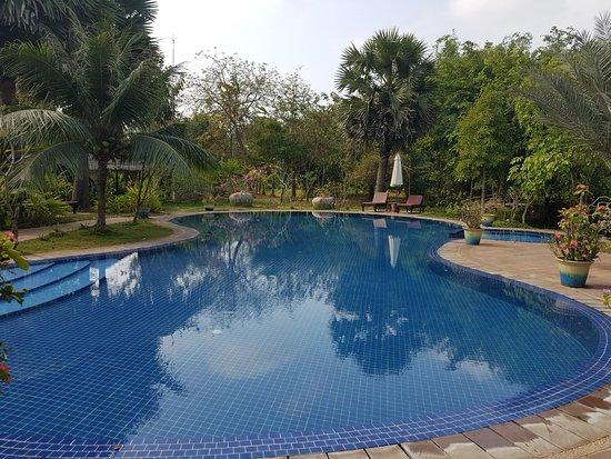 Battambang Resort: The pool is very nice