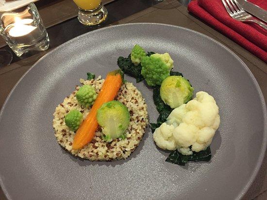 Limas, فرنسا: Entrée végétarienne