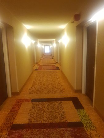 long and large hallway