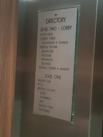 the elevator directory