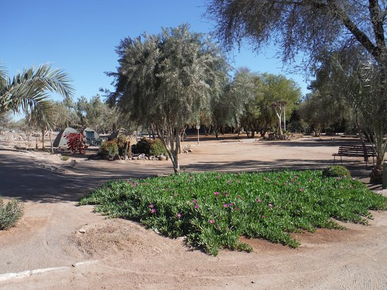 Karas Region, Namibia: Not much grass, but even spotlessly clean