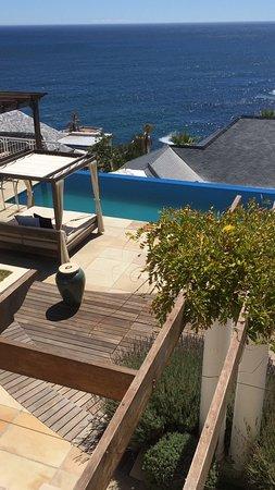 Bantry Bay, Afrika Selatan: view from breakfast terrace