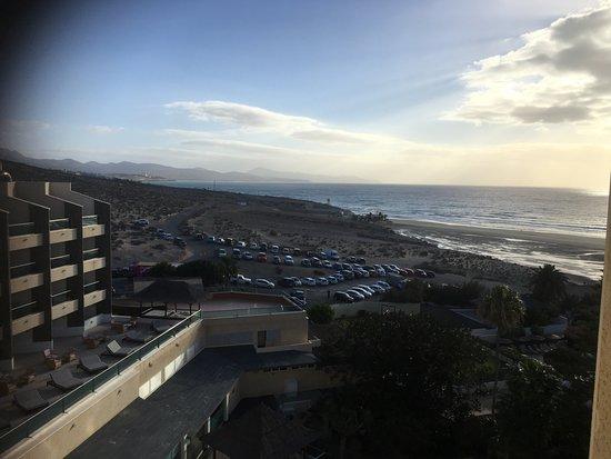 Melia Fuerteventura: View towards Costa Calma
