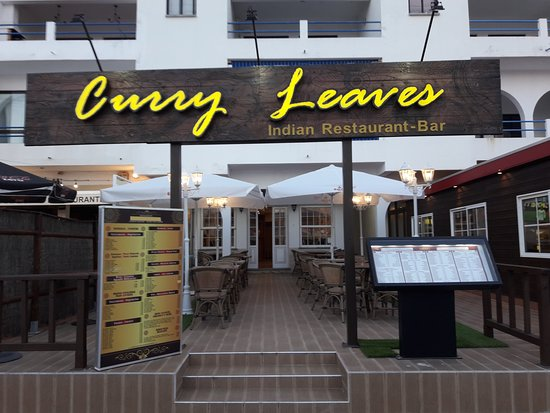 Shows Curry Leaves Restaurant