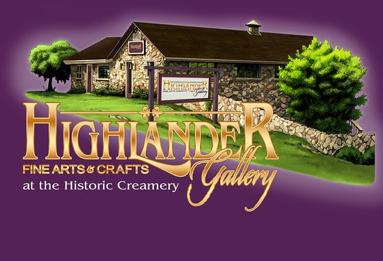Brasstown, นอร์ทแคโรไลนา: Highlander Gallery in the Historic Creamery