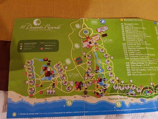 Resort Map 1 Of 2 Picture Of El Dorado Royale By