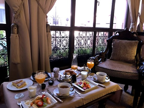 Riad Noir d'Ivoire: Breakfast brought to our room