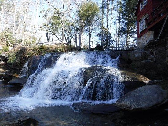 Beautiful waterfall near Rosman, NC