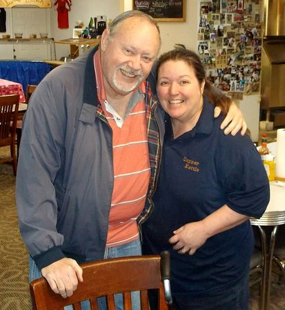 Ashland, MO: Cindy- the owner.....great lady and fabulous cook