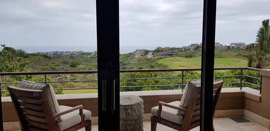 Pezula Hotel: Balkon mit Aussicht