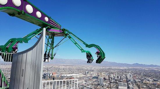 Insanity The Ride At The Stratosphere Bild Von Insanity The Ride