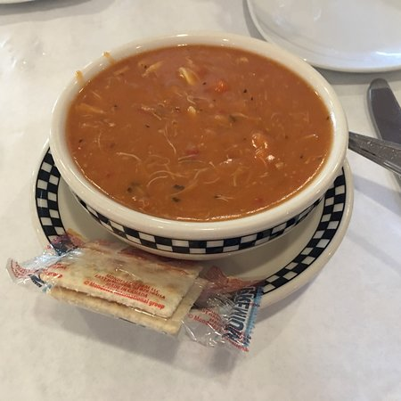 Fitzpatrick's Deli & Steakhouse: Crab bisque