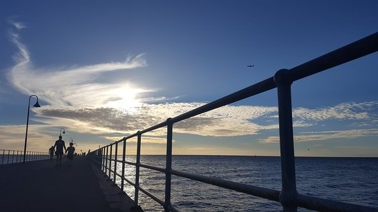Glenelg, Australia: jetty view