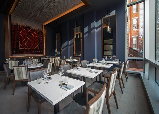Private Dining Room With Loom Feature At Karma Modern Indian