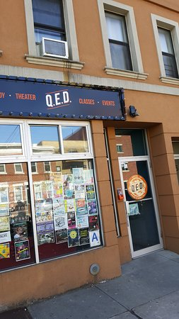 Q.E.D.: Entrance on 23rd Avenue