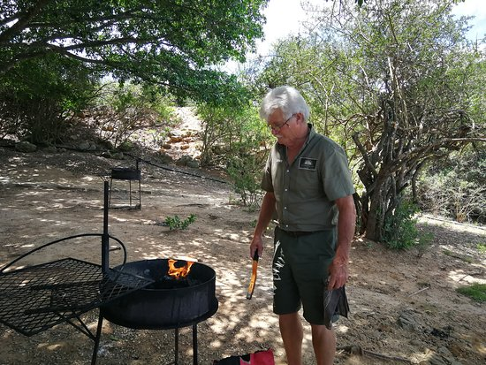 Colchester, South Africa: Dave, the Braaimaster!