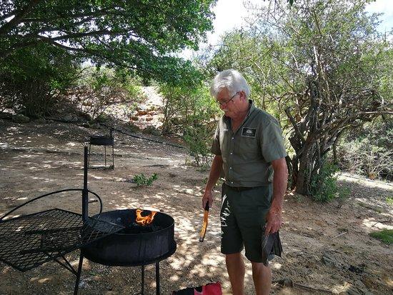 Colchester, Sudáfrica: Dave, the Braaimaster!