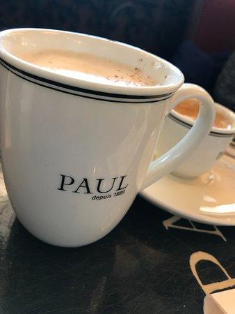 Paul: Cappuccino and espresso