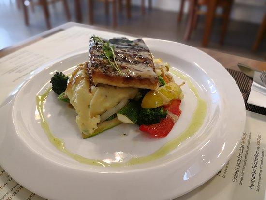 The Line Sandwich Cafe: Fresh Pan-Fried Sea Bass