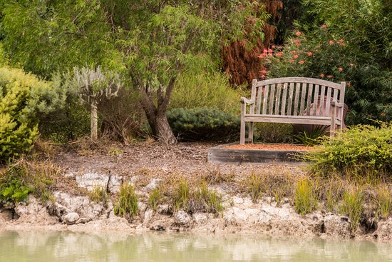 Bedfordale, Australien: Peaceful seating by lake