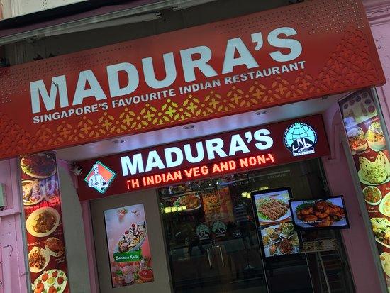 Tampak Logo Madura S Restaurant Di Little India Singapore