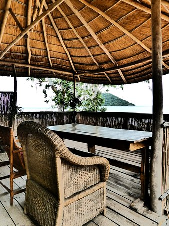 Cape Maclear, Malawi: View from ''Mtendere'' cottage chichewa for ''Peace''