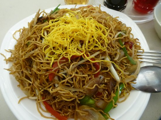 Coquitlam, Canada: Fried noodles with vegetables