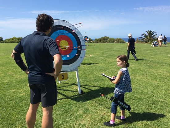 Nice day at Bondi Archery, all welcome.