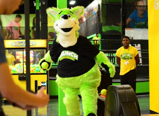Doral, FL: LAUNCH Trampoline Park is the house of JOEY. Come meet him!