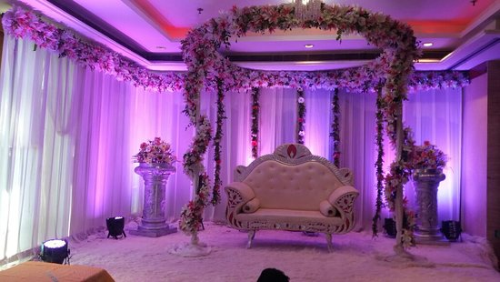 best western skycity hotel decoration of longitude hall 3rd floor for marriage