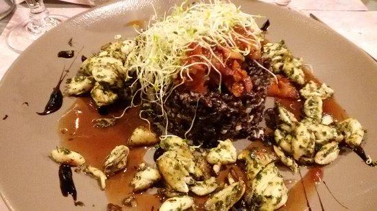 L'Arrosoir: Risotto aux cuisses de grenouilles