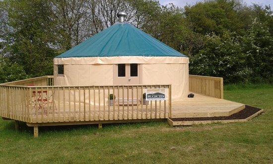 Oldcastle, Irland: the Yurt
