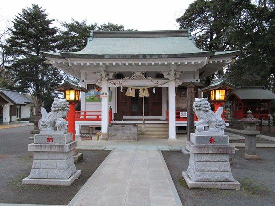 Shiraoka, Giappone: 拝殿正面