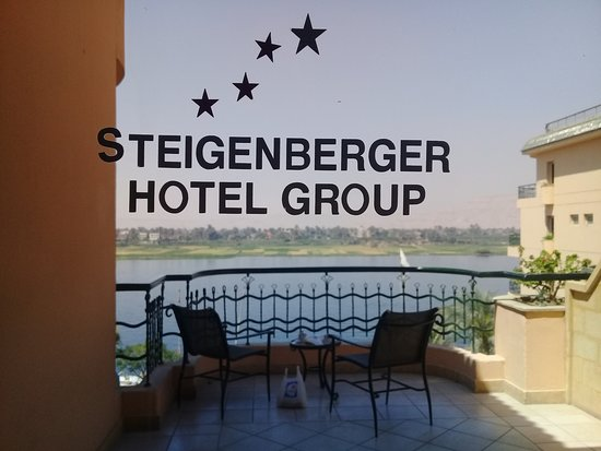 Steigenberger Nile Palace Luxor: my balcony view