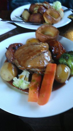 Pandy, UK : Sunday lunch, well worth a visit