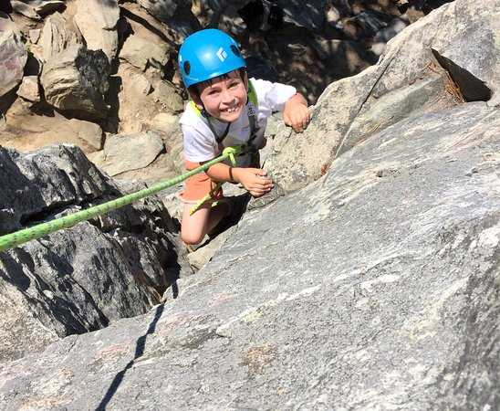 Nellysford, VA: Climbing for all ages at Pilot Mountain, NC
