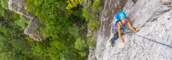 Nellysford, VA: Try out multi-pitch climbing in VA, WV, or NC!