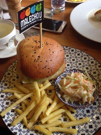 Cesky Brod, Republika Czeska: hamburger