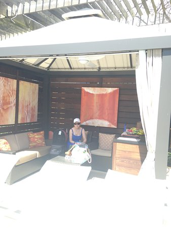The San Luis Resort: A photo of the beautiful Cabana poolside.