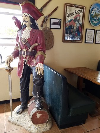 Over the Edge : Your greeter for the bar
