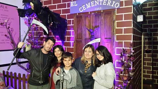 ‪Escape Room ADRENALINA El Cementerio‬