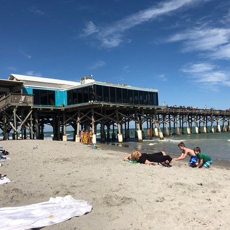Cocoa Beach Pier Best View On