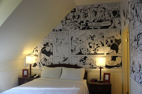 Arlington Hotel: Stan Lee room