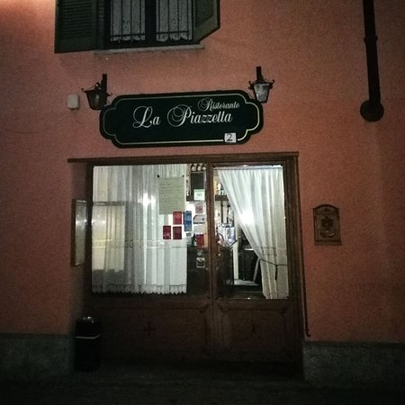 Saluggia, Italy: L'ingresso dell'Osteria