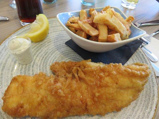 The Beach Restaurant: Fish & Chips